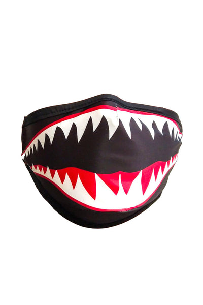 Flying Tiger Face Mask - BKWH