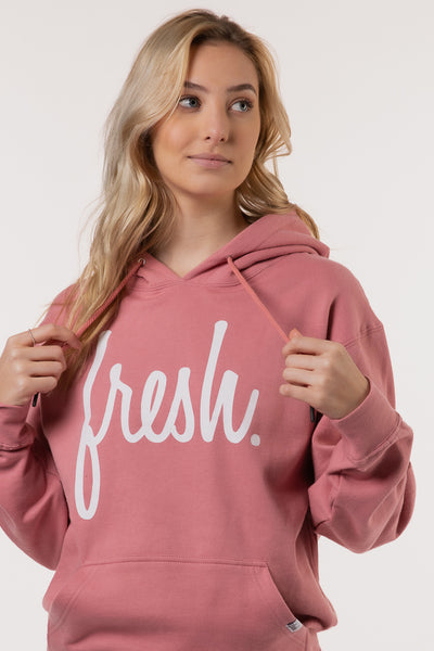 Below The Belt Exclusive - Dusty Rose Fresh Hoodie - PINK