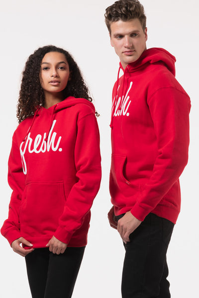 Red Fresh Hoodie - RED