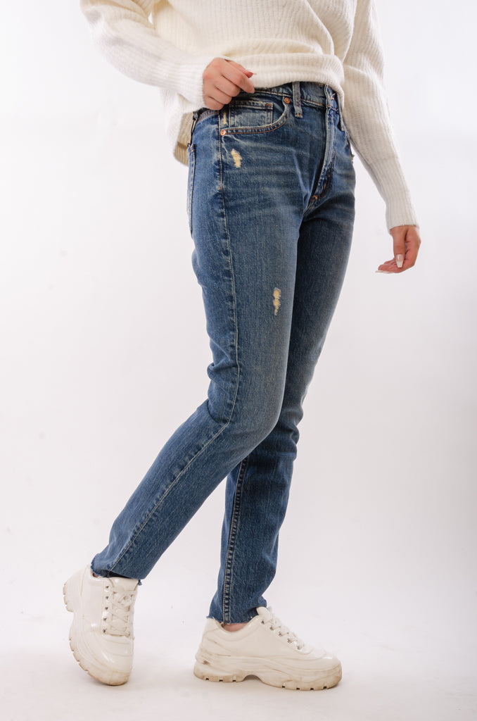 Frisco High Rise Skinny Jeans - 28