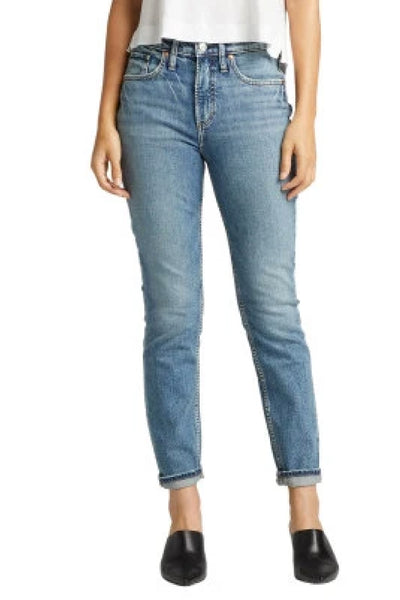 Frisco Tapered High Rise Jeans - 28