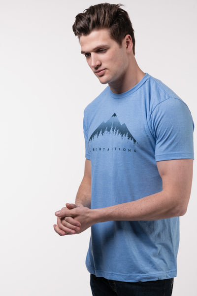 Ghost Mountain Tee - BLU