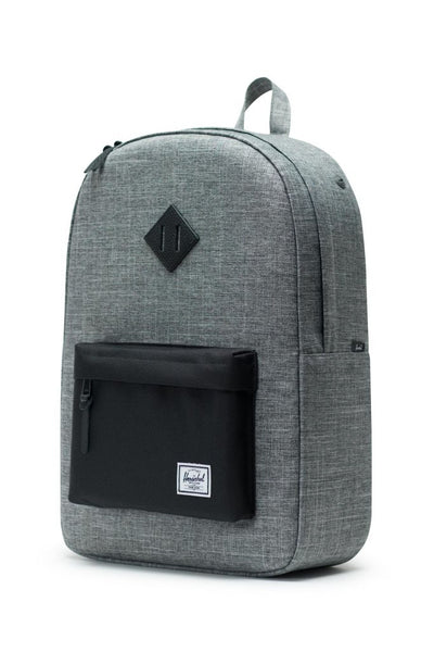 Heritage Backpack - Raven Crosshatch