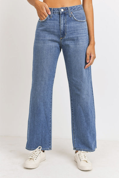 High Rise Dad Jeans - MED