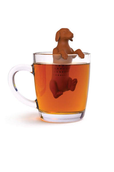 """Hot Dog"" Tea Infuser - BRN"