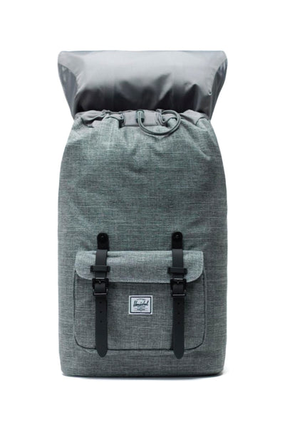 Little America Backpack - Raven Crosshatch