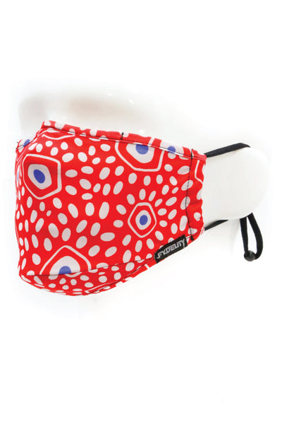 Minds Eye Face Mask - RED