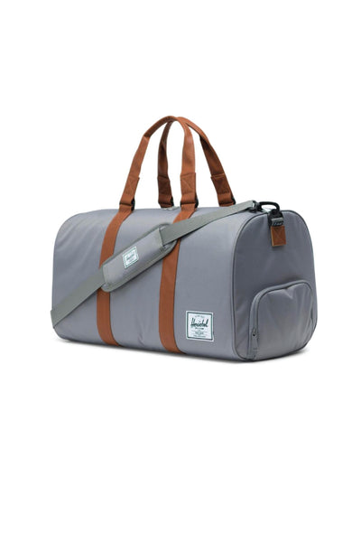 Novel Duffle - Grey/Tan
