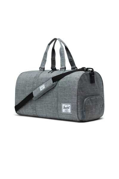 Novel Duffle - Raven Crosshatch