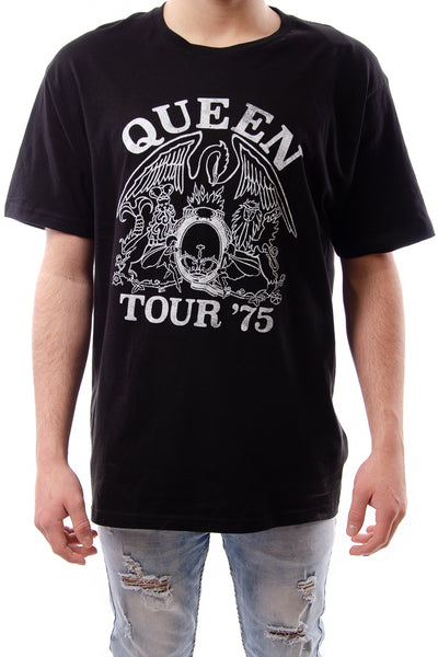 Queen Tour '75 Tee - BLK
