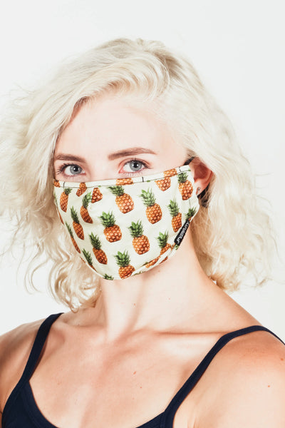 Pineapples Face Mask - MUL