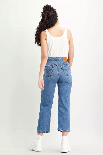 Ribcage Straight Ankle Jeans - 27