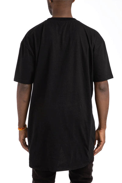 Scallop Tee - BLK