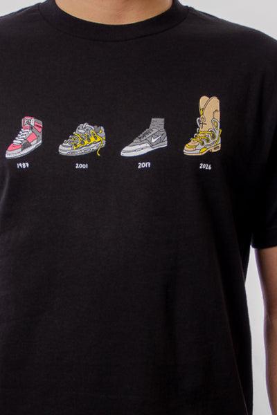 Shoes Evolution Tee - BLK