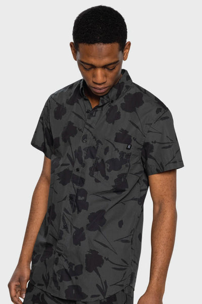 Silhouette Button Up - BLK