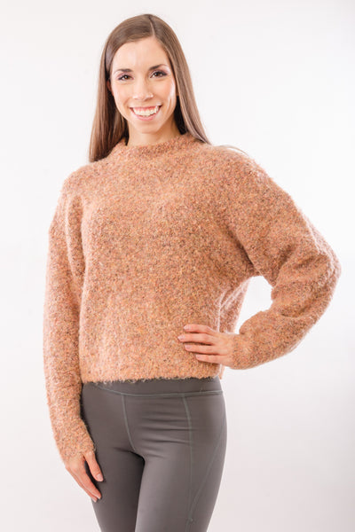 Sinclair Mock Neck Sweater - WAL