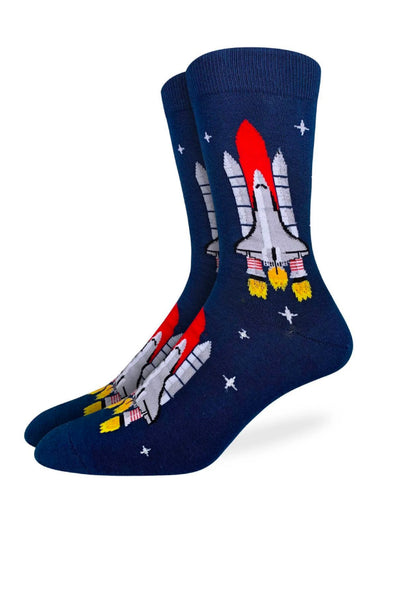 Space Shuttle Sock - NVY
