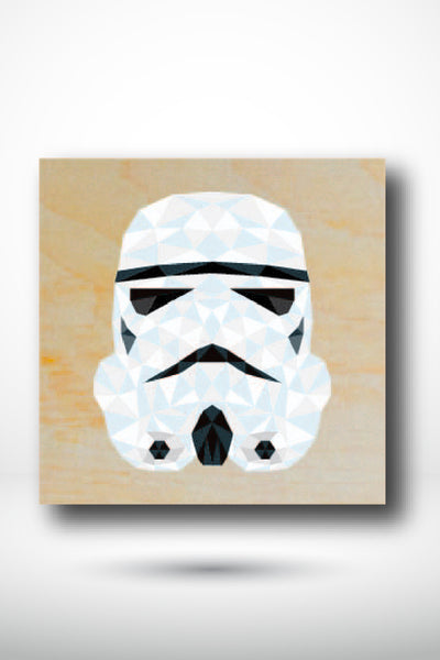 Stormtrooper Fan Art Coaster - TRPR