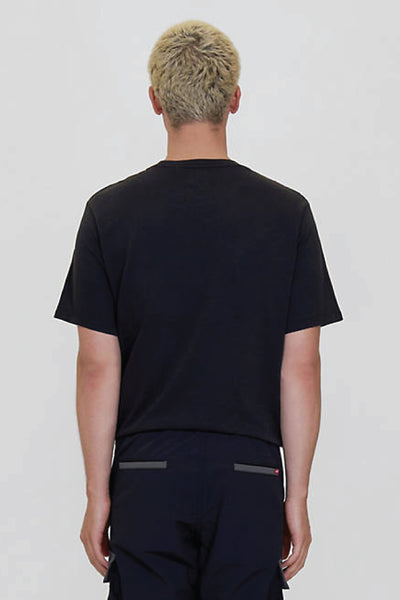 Sunset Pocket Tee - BLK