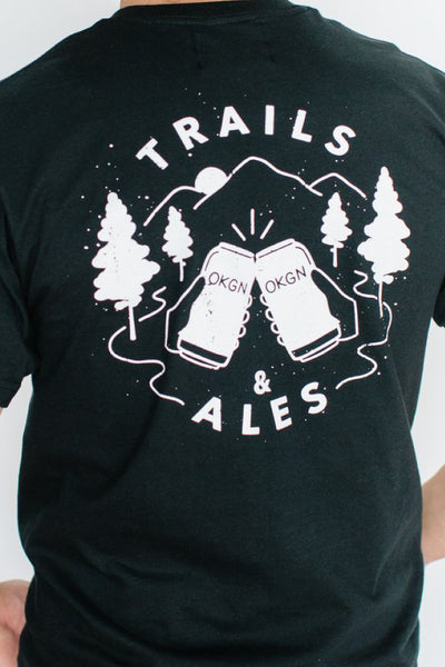 Trails and Ales Tee - BLK