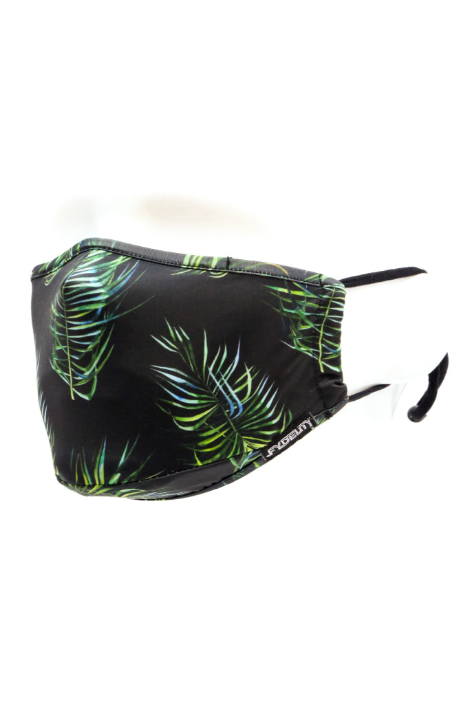 Tropical Face Mask - BLK