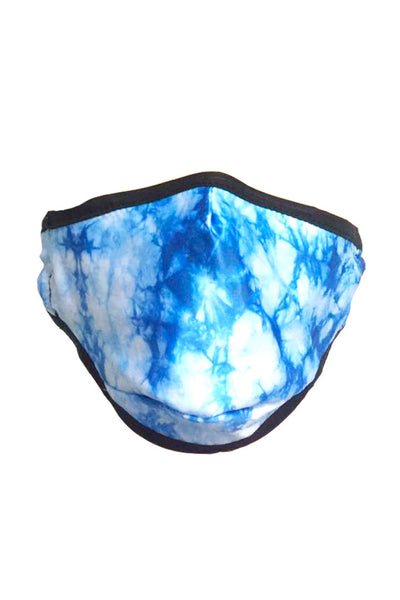 Tie Dye Blue Face Mask - TYEB