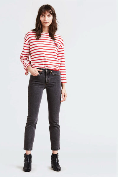 Wedgie Icon Fit Jeans - BLK