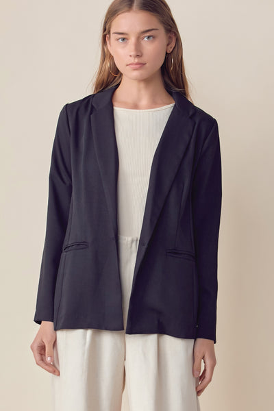 Weekend Blazer - BLK