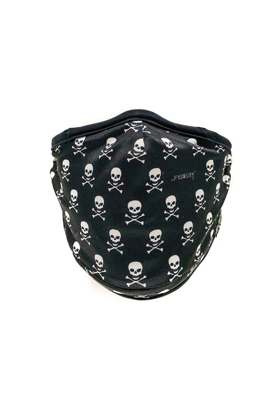Youth Danger Danger Face Mask - BLK