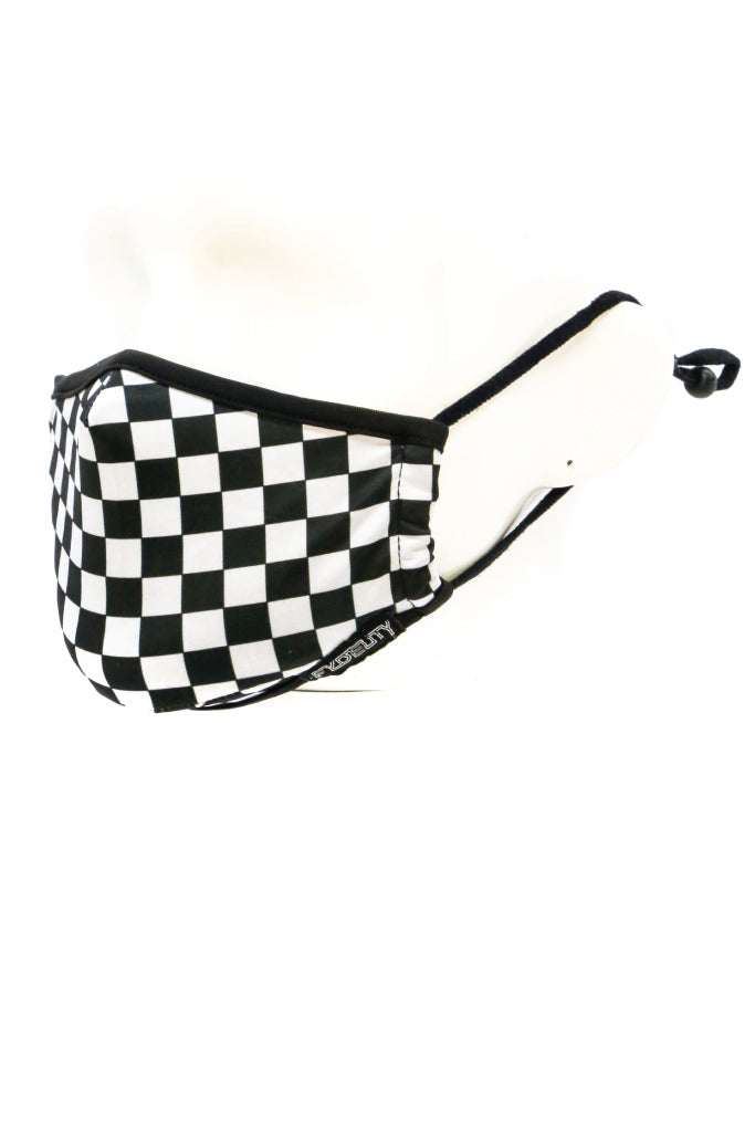 Youth Indy Face Mask - BLK