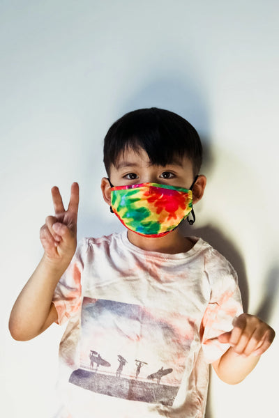Youth Tie Dye Face Mask - RAST