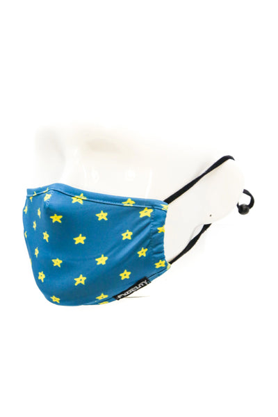 Youth Twinkle Twinkle Face Mask - BLU