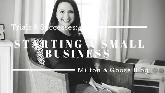 The Trials and Successes of Starting a Small Business
