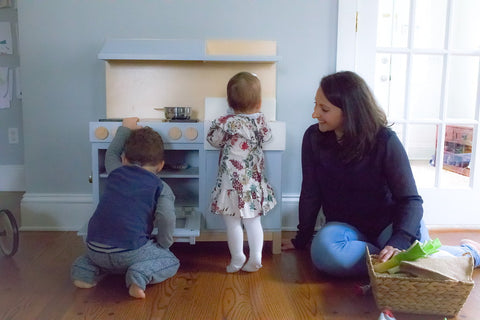 interview with the founder of milton and goose play kitchens