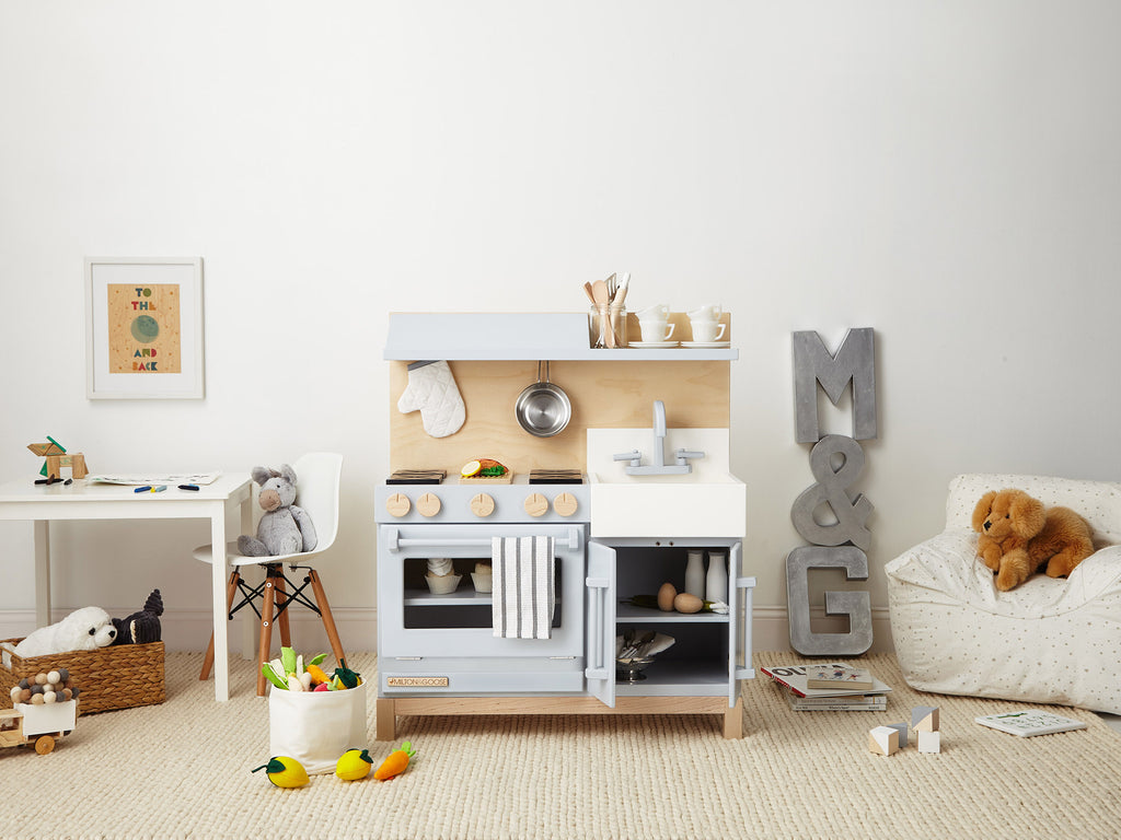 Milton and Goose Play Kitchen Wood Made in USA