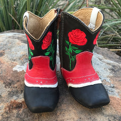 """Ruby"" Rose Boots"