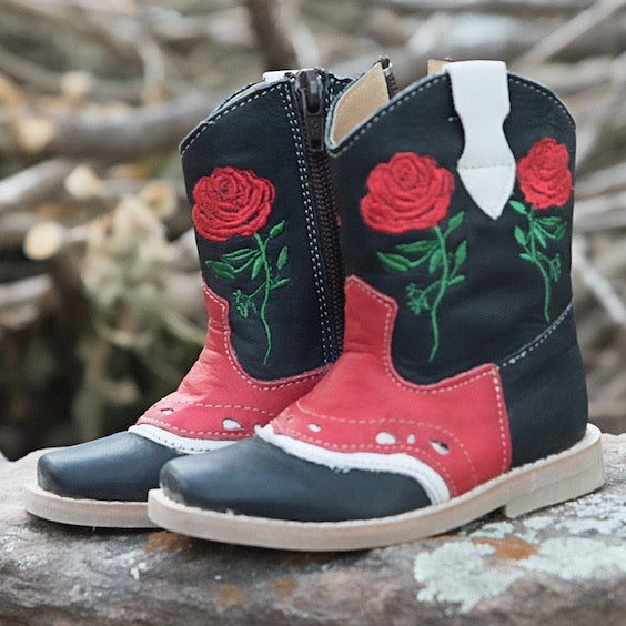 """Ruby"" Rose Toddler Boots"