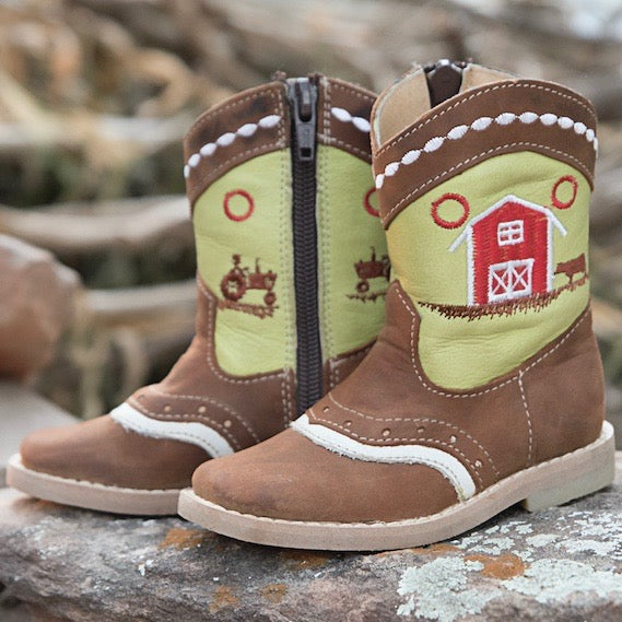 """Lawson"" Farm Toddler Boots"