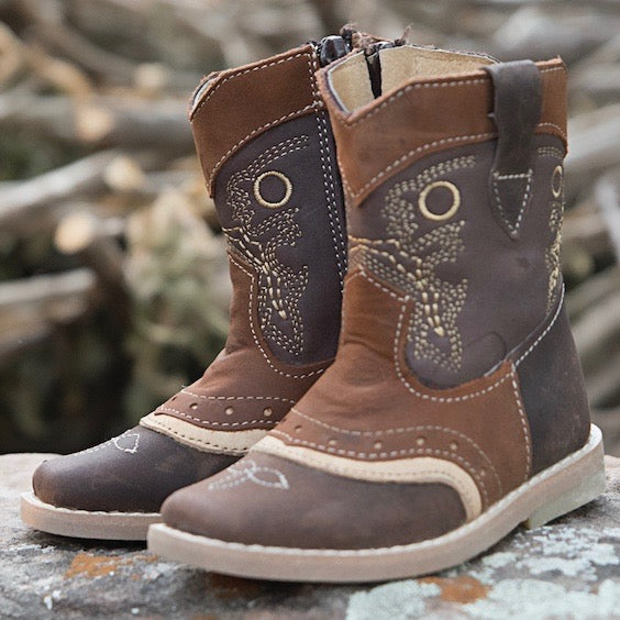 """River"" Classic Cowboy Toddler Boot"