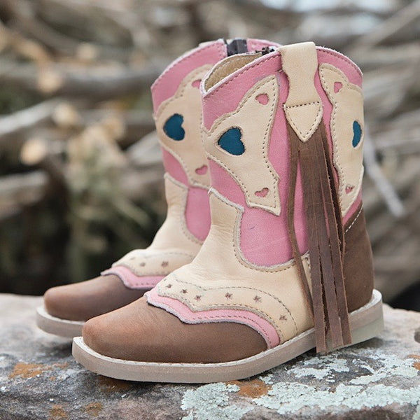 """Addi"" Toddler Boots"