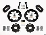"Drag Kit - 11.75"" Forged Dynalite Front Drag Brake Kit (Hat)"