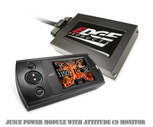 2007.5-2010 GM DURAMAX (6.6L) Edge Juice Power Module with Attitude CS Monitor (Hi-Resolution Color Screen)