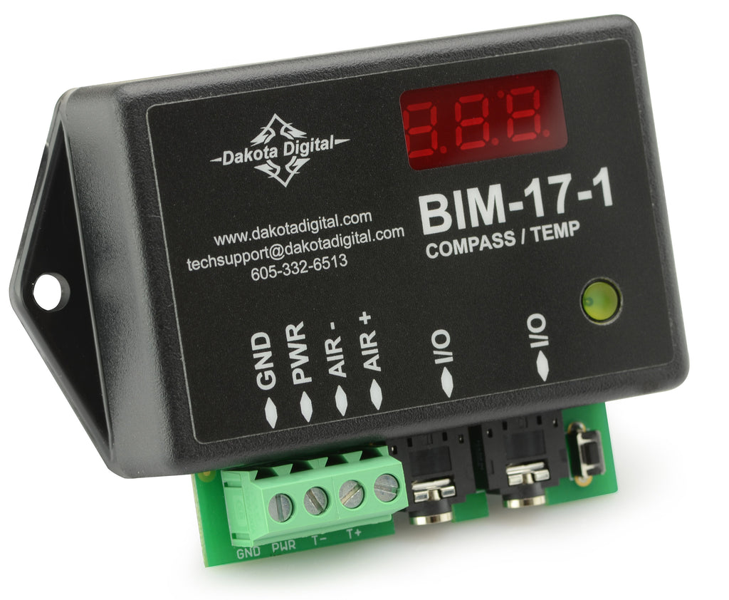 Dakota Digital Compass w/ Outside Temperature Module - BIM-17-1 - $94.95
