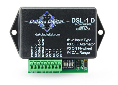 Dakota Digital Universal Diesel Alternator Tachometer Interface DSL-1  -  $66.45