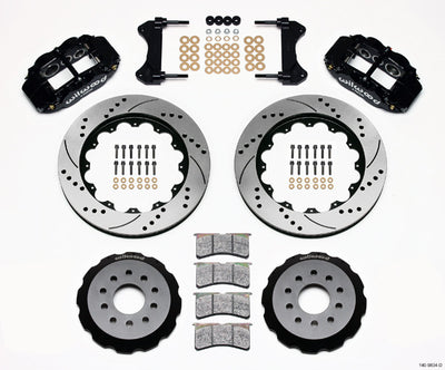 Forged Narrow Superlite 6R Big Brake Front Brake Kit (Hat) - 14-Inch Rotors