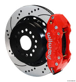 "Rear Kit - 14"" W4A Big Brake Rear Brake Kit For OE Parking Brake"