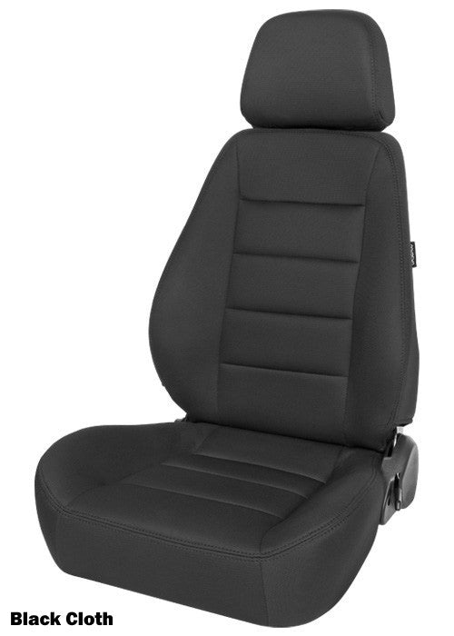 Corbeau Sport Seat - Black Cloth 90001