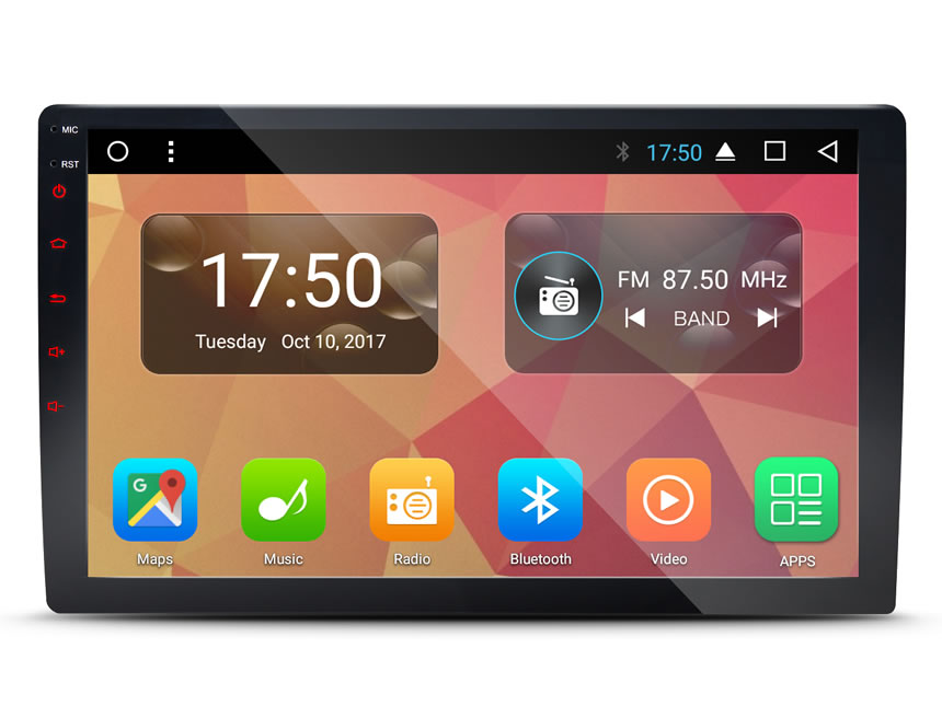 Eonon GA2168 2DIN Universal Head-Unit with Giant 10 1 Inch HD Adjustable  Display: Android 7 1 (Now Split Screens Apps) / Octa-Core Processor /  Screen