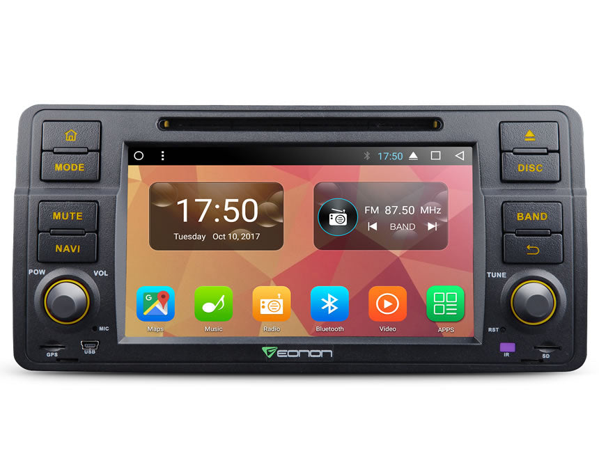 GA8150A (OCTA-CORE) Android 7 1 Direct Fit Head-Unit for BMW e46 3-Series  (99-04): 7