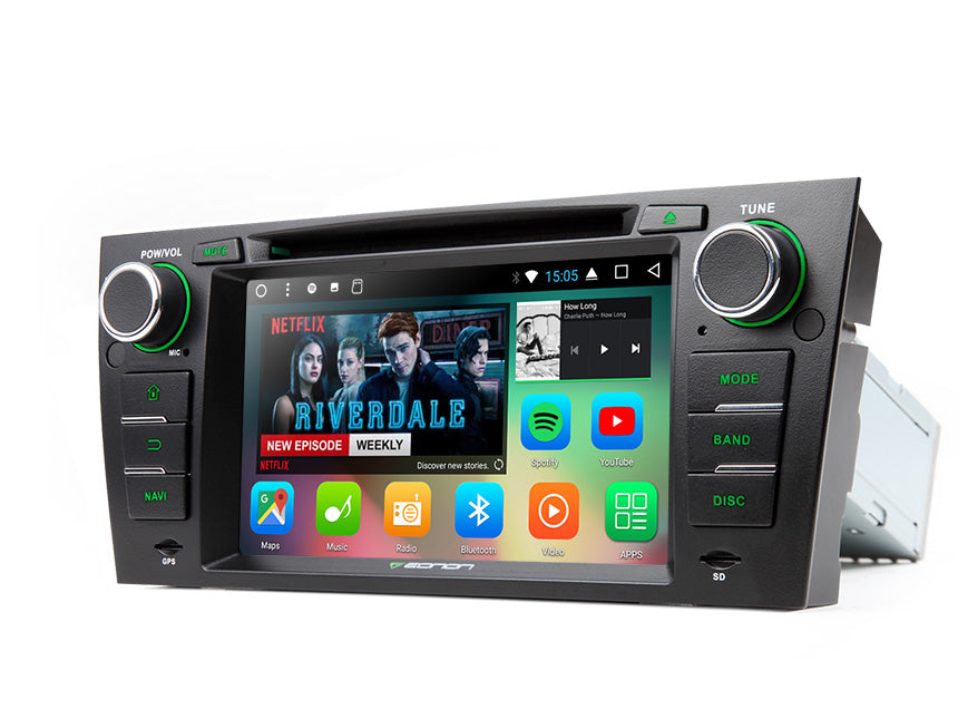 GA8165A (OCTA CORE) Android 7 1 Direct Fit Head-Unit for e90/e91/e92/e93  BMW 3-Series (05-11): 7